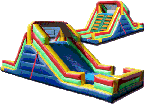 Inflatable Climb and Slide